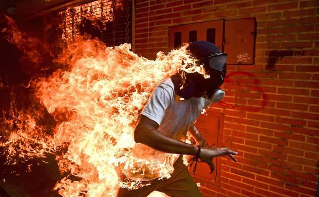 Las seis imágenes nominadas al World Press Photo del año