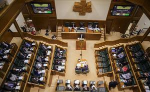 El Parlamento Vasco avala la reforma fiscal y tumba las propuestas de EH Bildu y Podemos