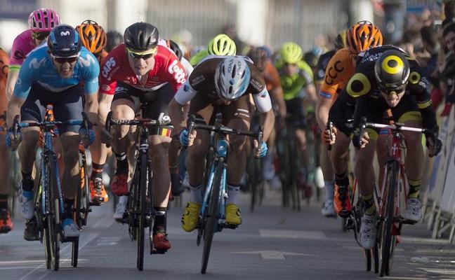 Boudat gana la primera etapa al esprint