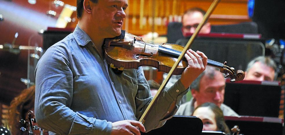 Frank Peter Zimmermann: «Este Stradivarius se ha convertido en mi propia voz, ya no podría tocar con otro violín»