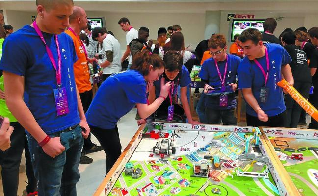 Premio en la First Lego League a Mariaren Lagundia