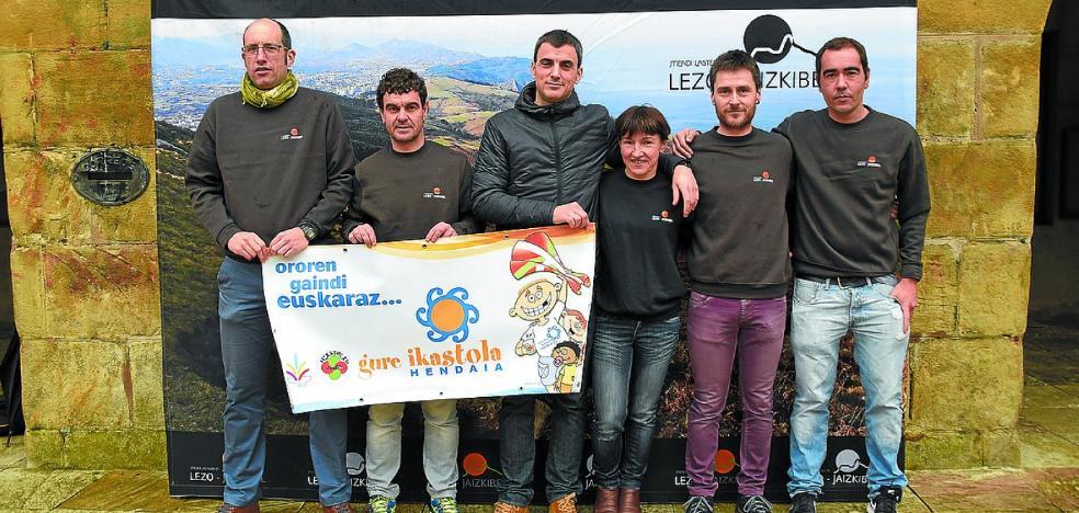 Deporte y solidaridad se dan la mano en la quinta carrera de montaña Lezo-Jaizkibel