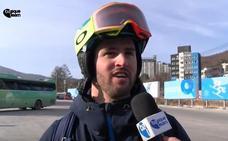 Lucas Eguibar: «Estoy cabreado porque llevaba muchísimo tiempo preparándome»