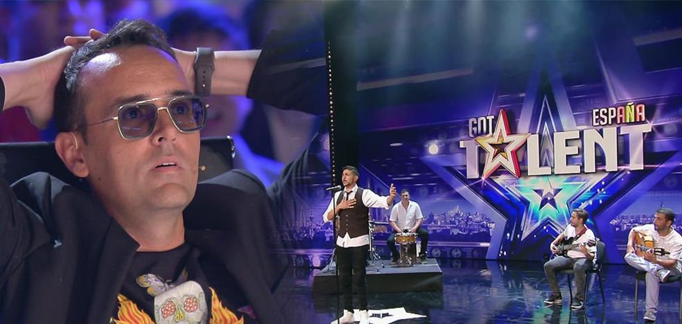 Sonakay arrasa en 'Got Talent' cantando flamenco en euskera