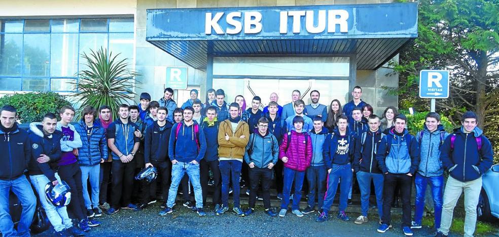KSB Itur Spain apoya a los alumnos de Oteitza Lizeo Politeknikoa en STARTinnova