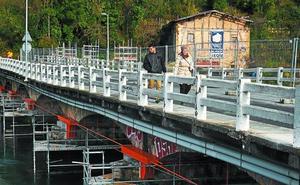 La obra de refuerzo del puente de Astiñene se adjudica en una semana