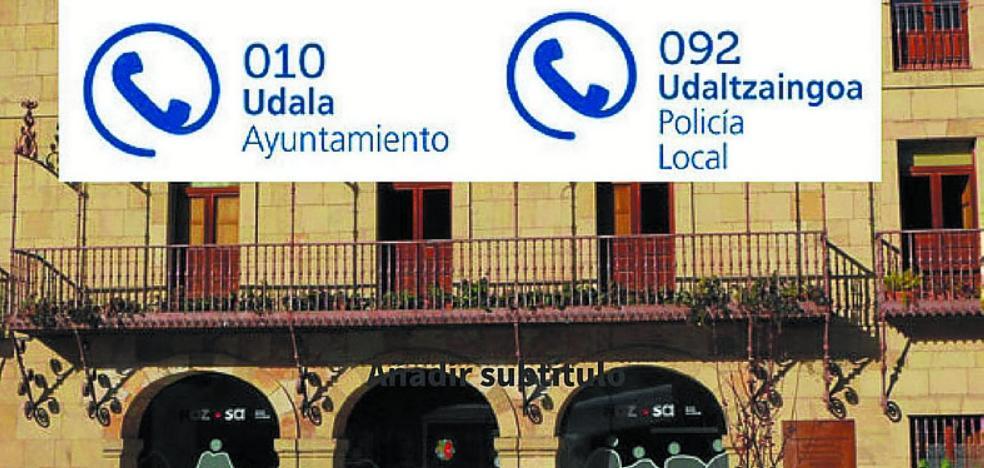 El Ayuntamiento activa los números de teléfono 010 y 092