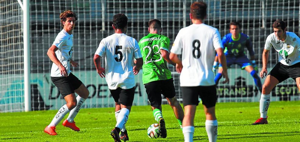 El derbi sentó bien a Hondarribia y Real Unión B