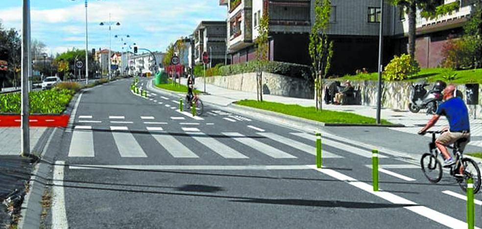 El Gobierno local adjudica la obra del bidegorri de la avenida Letxunborro