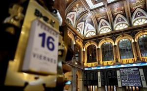 El Ibex-35 gana un 2% en la semana y recupera los 9.800
