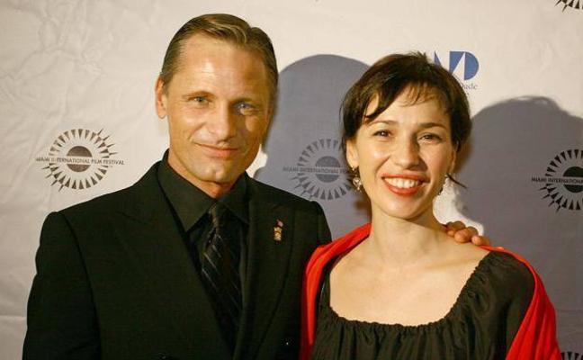 Viggo Mortensen y Ariadna Gil en La Rioja