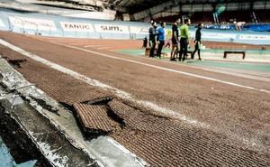 Las pistas de atletismo del Velódromo estarán listas para la nueva temporada