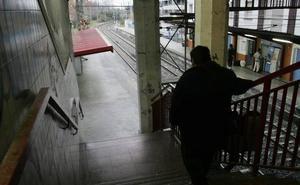 La estación del Topo de Irun-Colón tendrá un nuevo ascensor