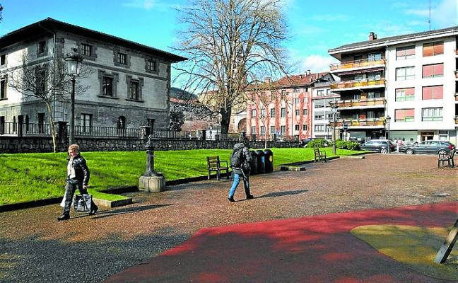 El parque de Gaztanenea acogerá el espacio de juegos infantil cubierto