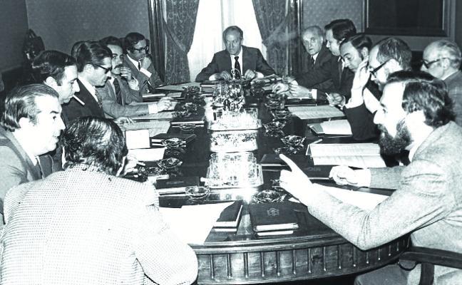 40 años del embrión del Gobierno Vasco