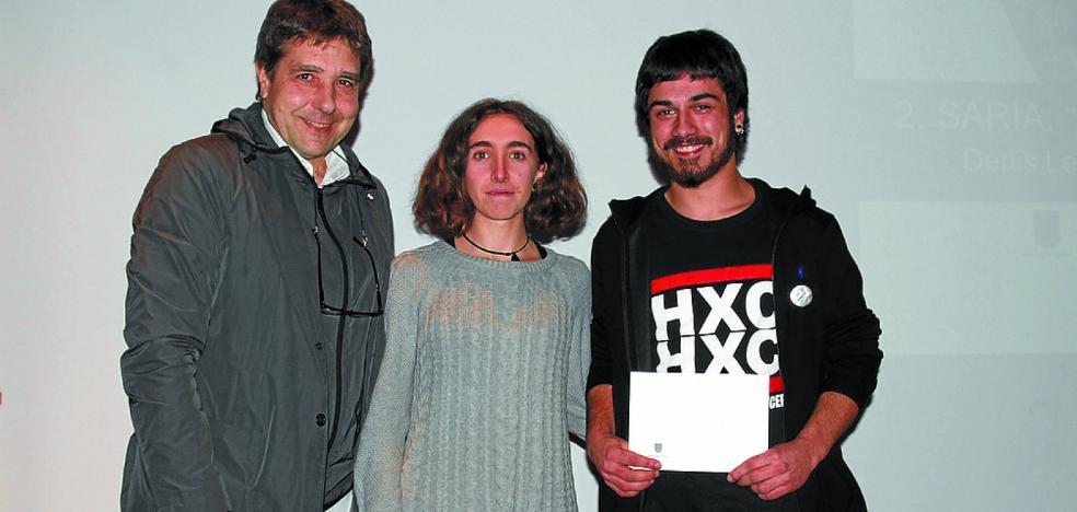 Iker Casado gana el certamen de vídeo 'Andoain Laburrean' con el trabajo 'Andoaingo guduaren egunerokoa'
