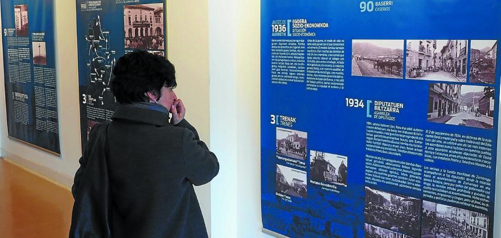 La casa de cultura acoge testimonios de la guerra y de la posguerra