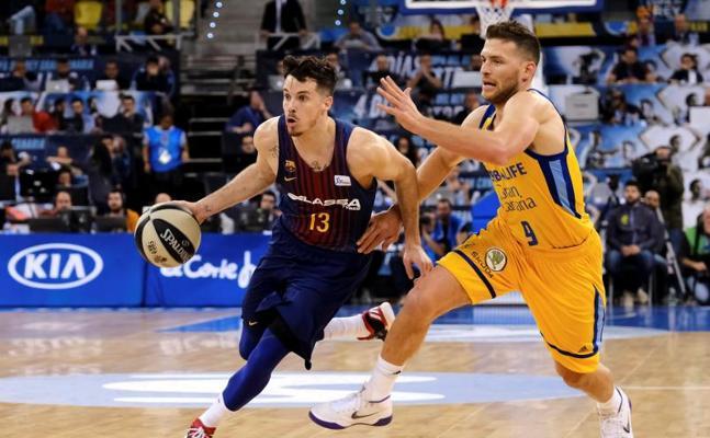 El Barça se crece con Pesic y repite final en Las Palmas