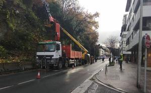 La Avenida de Zarautz sólo tendrá un carril durante los próximos tres meses