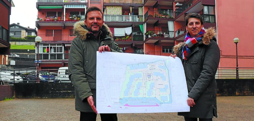 El Ayuntamiento presentó el proyecto de reurbanización de Basaundi bailara