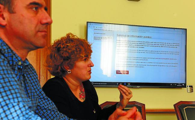 La página web municipal implanta un nuevo apartado «para lograr mayor transparencia»