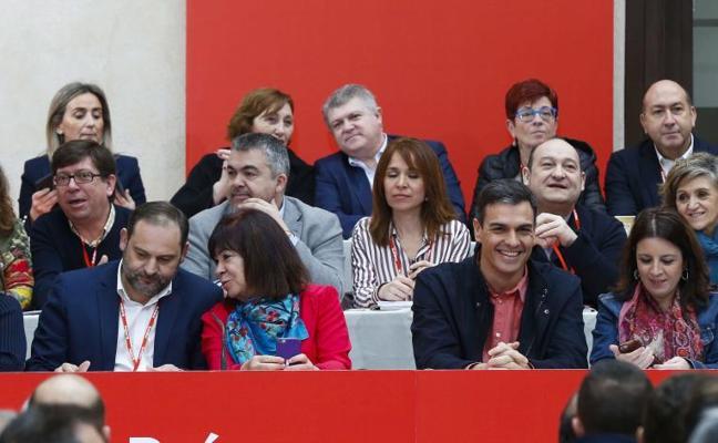 Mendia garantiza ante Sánchez que defenderá la legalidad del nuevo estatus