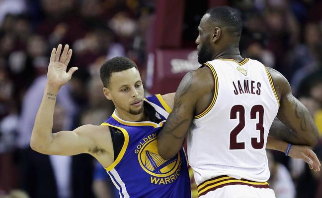 LeBron James vs Stephen Curry, la nueva versión del All Star