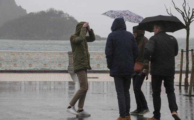 Activan el aviso amarillo por fuertes lluvias hasta el lunes