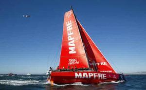 Los Doldrums dejan al 'Mapfre' último y estuvo a 280 millas del líder