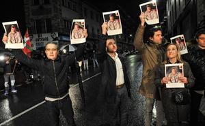Dirigentes del PP denuncian en Andoain el homenaje a dos etarras