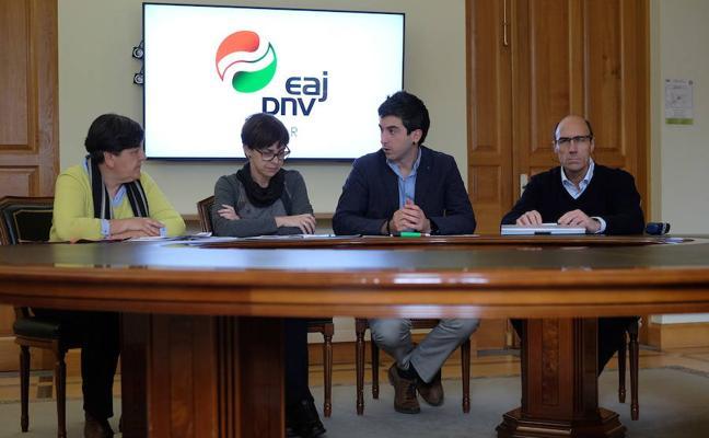 El PNV de Eibar proclama a Josu Mendicute candidato a alcalde para las próximas elecciones municipales