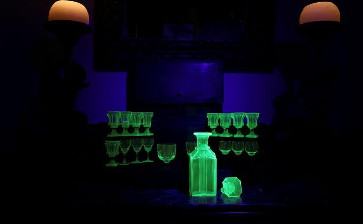 La 'magia' del vidrio de uranio