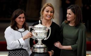 Maialen Chourraut recibe el Premio Nacional del Deporte de 2016