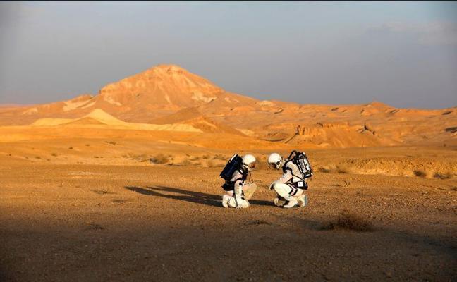 Como marcianos, pero en Israel