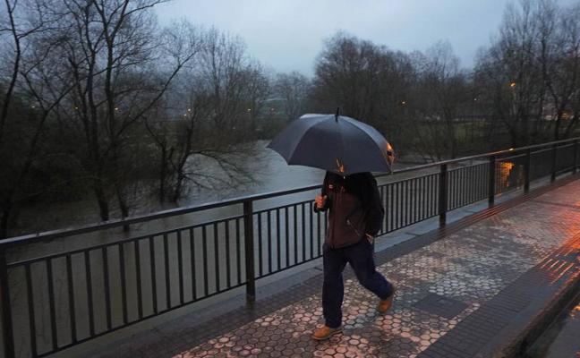 Declarada la fase de alerta ante el riesgo de inundaciones en Gipuzkoa