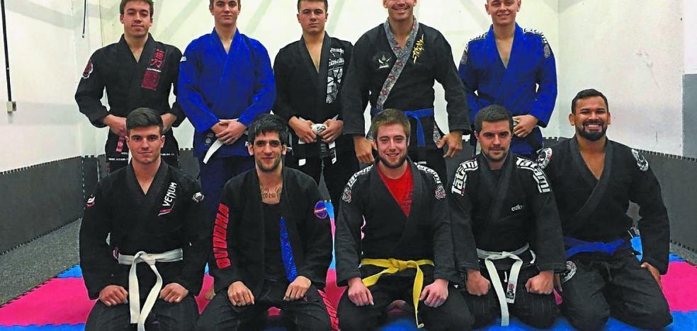 Azpeitiarras en el Campeonato de España de Jiu Jitsu de Guadalajara