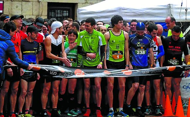 Ander Iñarra y Lourdes Oiartzabal ganan en Jaizkibel