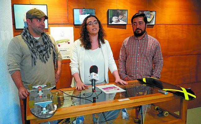 Cultura skate y reciclaje en la nueva muestra del programa GazteArtean