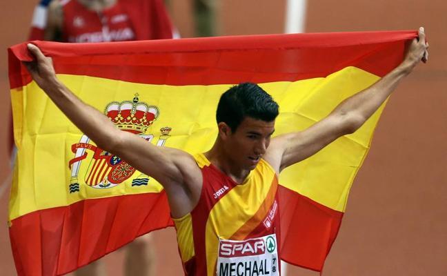 Mechaal, Husillos y De Arriba lideran la lista de España para el Mundial