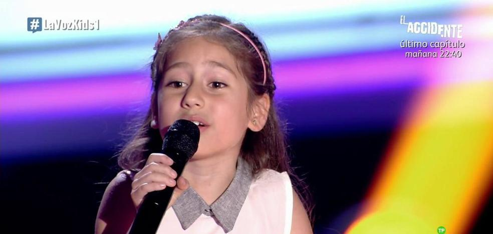 Una niña donostiarra inaugura 'La Voz Kids'