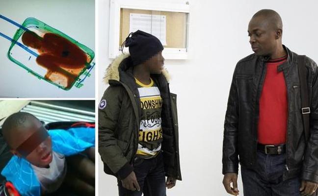 'El niño de la maleta' regresa a Euskadi con su padre, condenado a pagar una multa de 92 euros