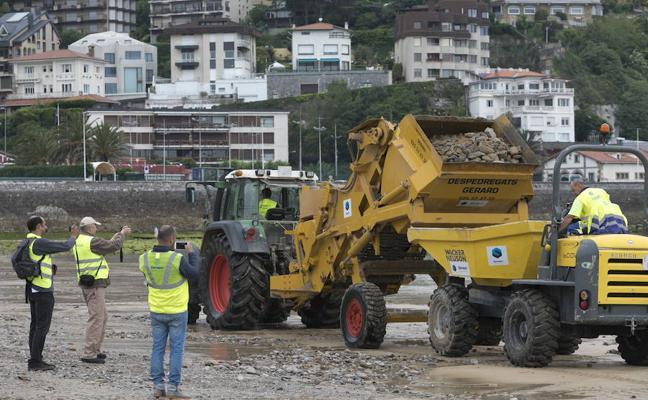Donostia invertirá 330.000 euros en la retirada de piedras de Ondarreta en los próximos dos años