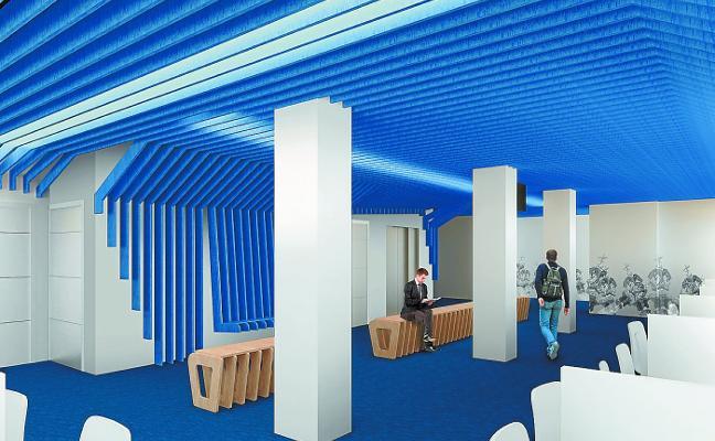 La reordenación de espacios municipales avanza con la reforma del palacio Goikoa