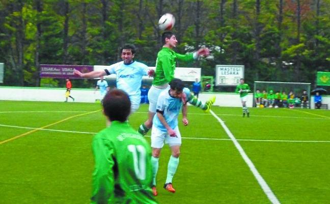 El Beti Gazte da la vuelta al marcador y se impone 3-1 al Aretxabaleta