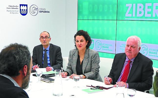 La Diputación y firmas de ciberseguridad avanzan en el diseño del centro guipuzcoano