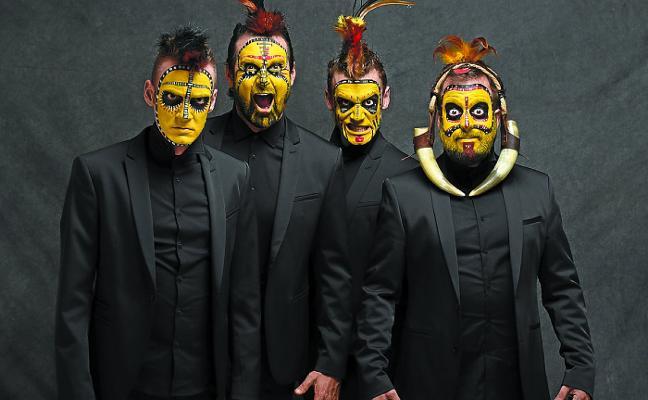 La divertida tribu de 'The Primitals' llega el viernes al Herriko Antzokia