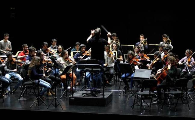 El Orfeón y Musikene se unen en el Concierto Solidario de los Jóvenes