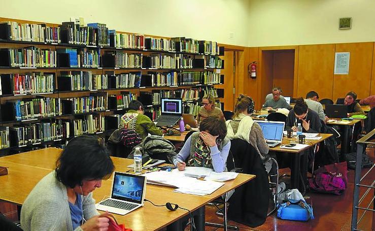 Visitas a bibliotecas de Donostia Cultura