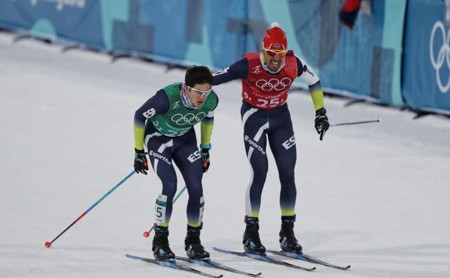 Imanol Rojo y Martí Vigo, decimonovenos en el esprint por equipos