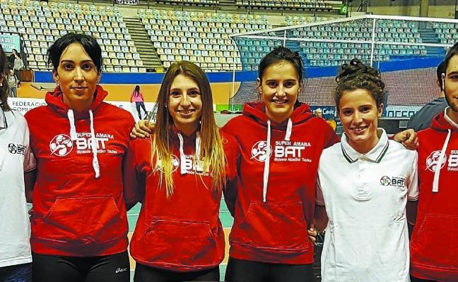 Oro y plata para el Super Amara-BAT en el Campeonato de España absoluto
